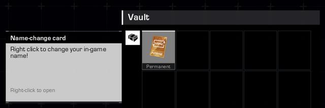 MÜÜA:Steami kasutaja, RING of ELYSIUM season 2 alguses tehtud kasutajaga VAULT