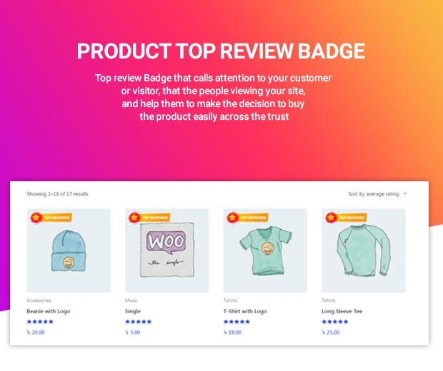 WooCommerce Review Master - WooCommerce review and rating tools - 1