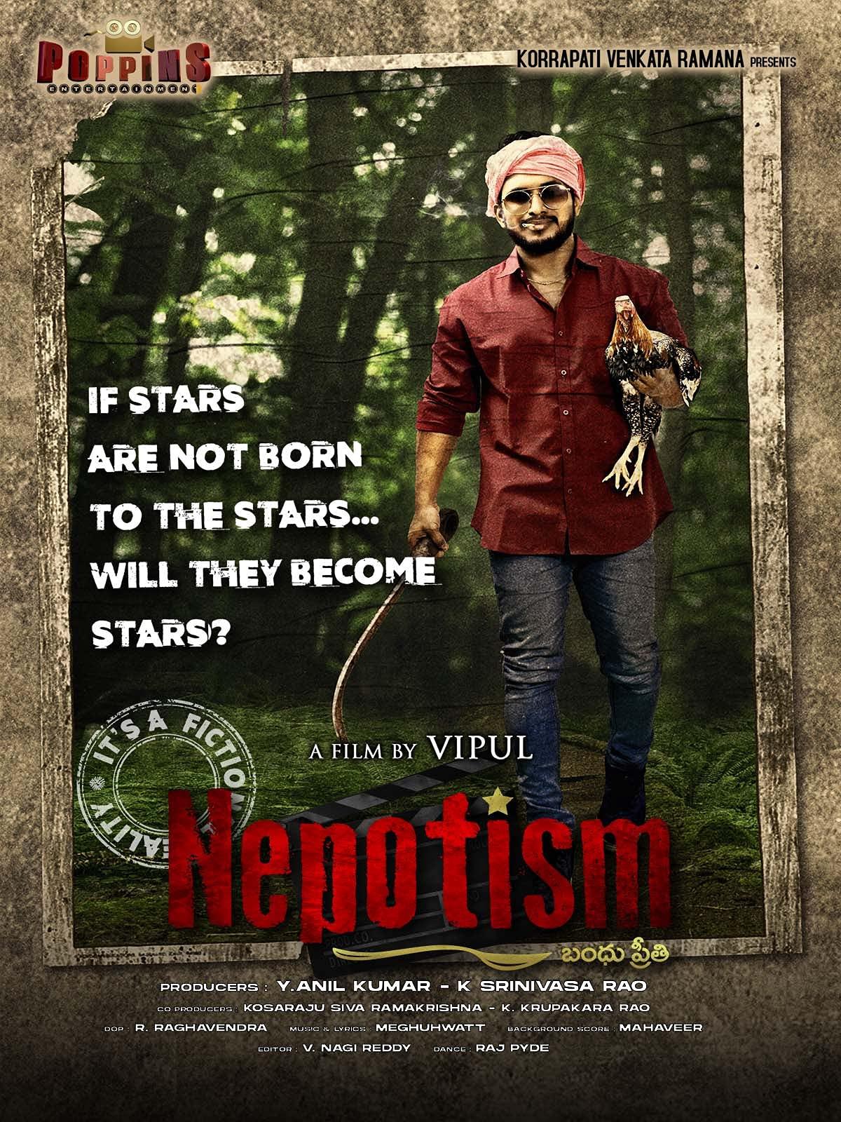 Nepotism (2021) Telugu 720p HEVC HDRip x264 AAC 500MB ESub