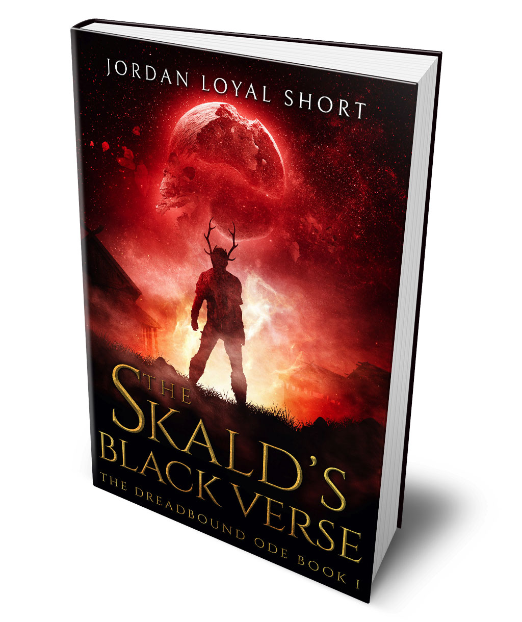 The Skald's Black Verse by Jordan Loyal Short cover