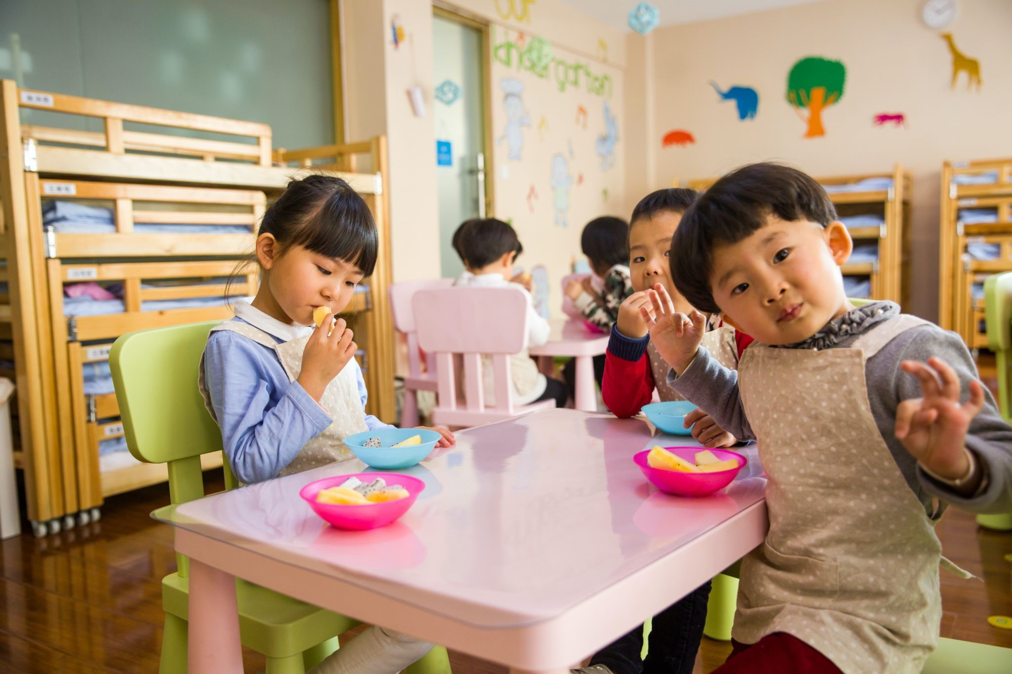 Using Hand Sanitisers in Child Care