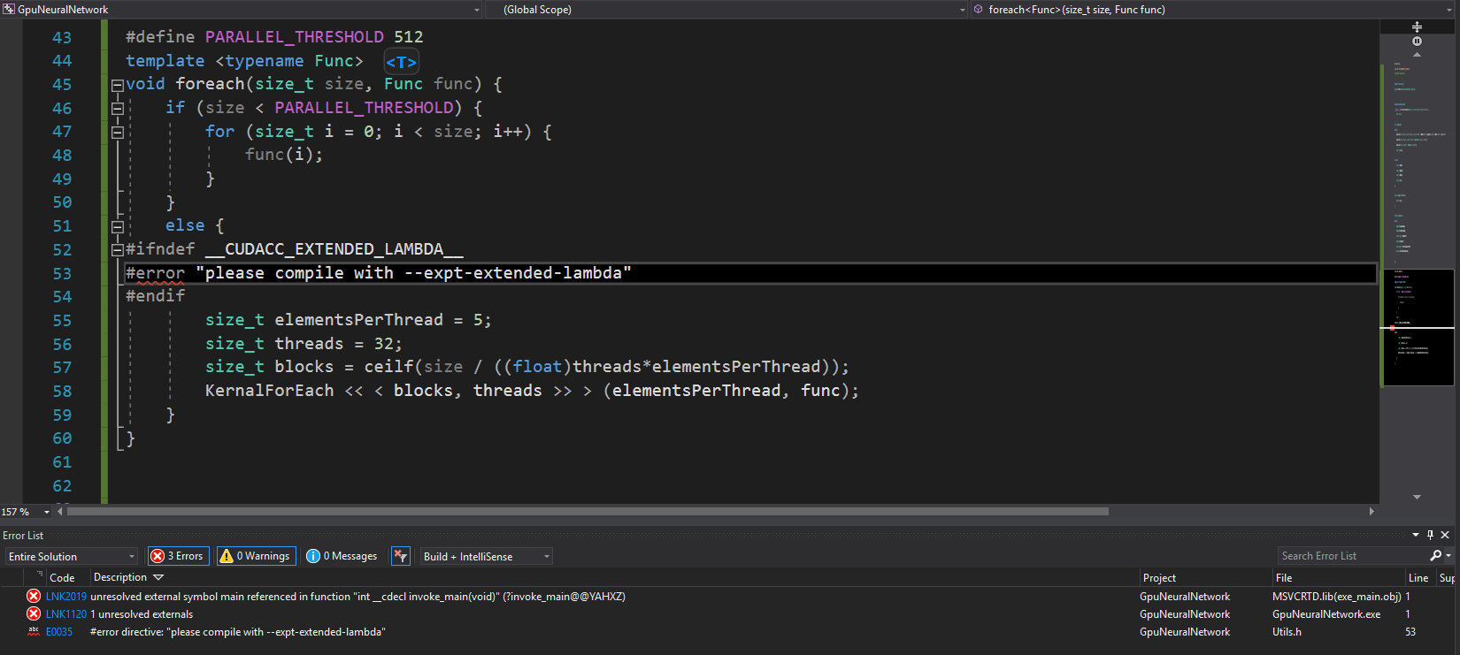 nvcc compiler flags in visual studio - NVIDIA Developer Forums