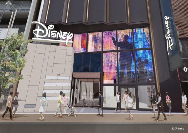 Tokyo Disney Resort en général - le coin des petites infos - Page 22 Disney-Store-Shinjuku-new