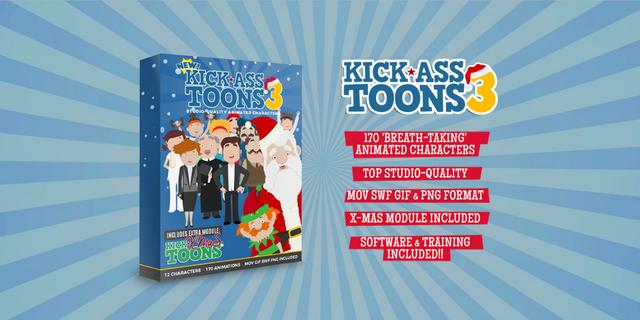 Kick Ass Toon V3