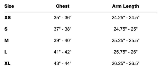 american-apparel-fleece-sizechart