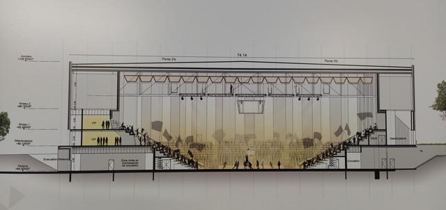 « Arena Futuroscope » grande salle de spectacles et de sports · 2022 - Page 9 Coupe