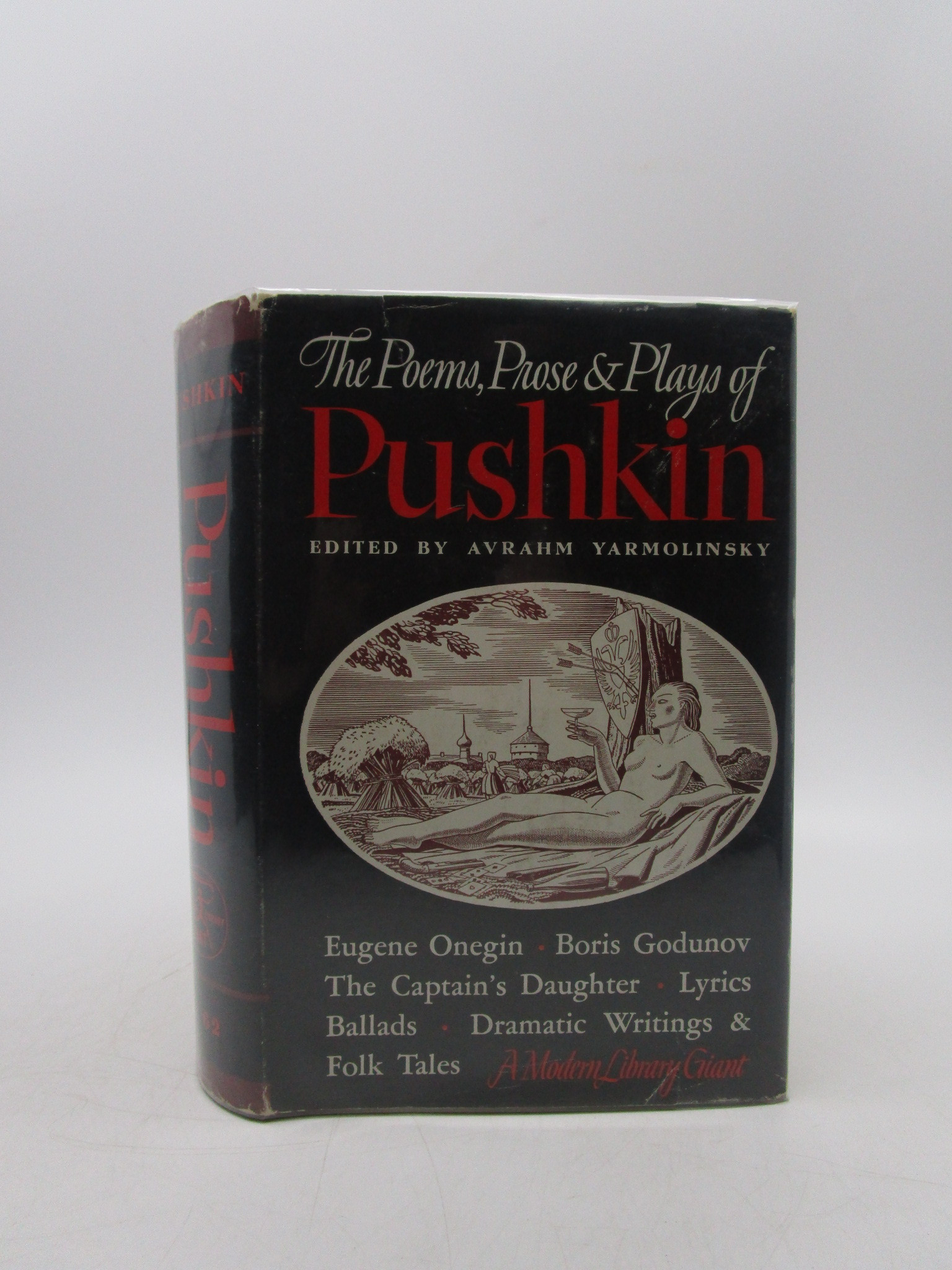 Image for The Poems Prose & Plays of Pushkin