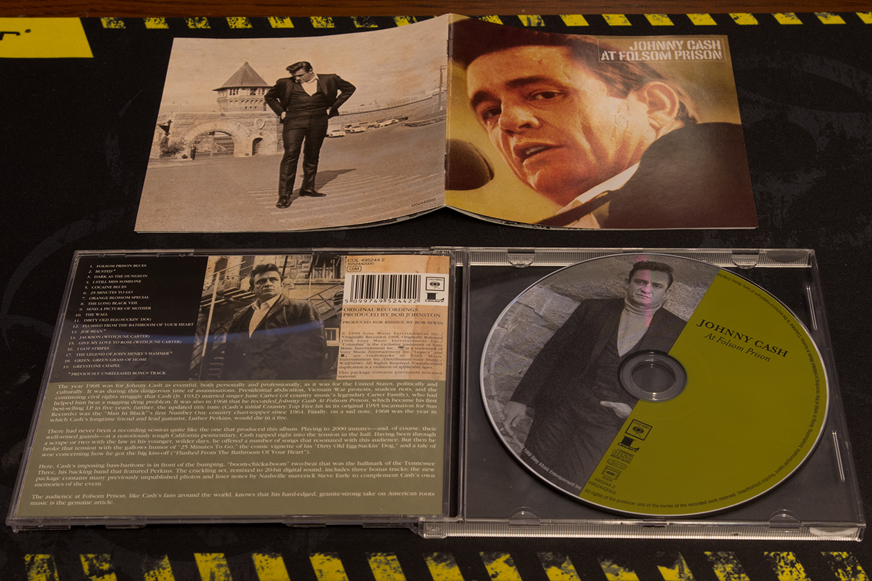Johnny Cash - At Folsom Prison (1968-05) [CD-EAC-FLAC]