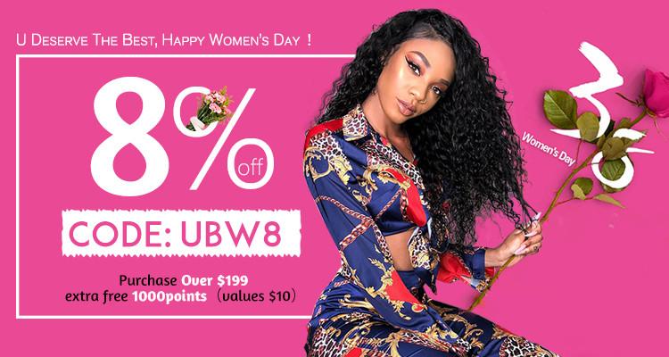 UNice Women's Day Hair Big Sale 2020