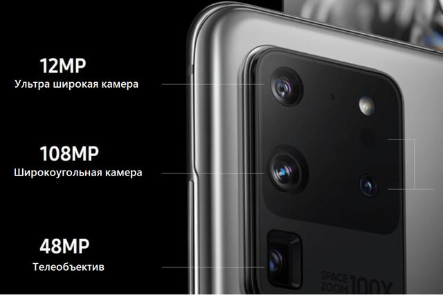 Обзор камеры Samsung S20