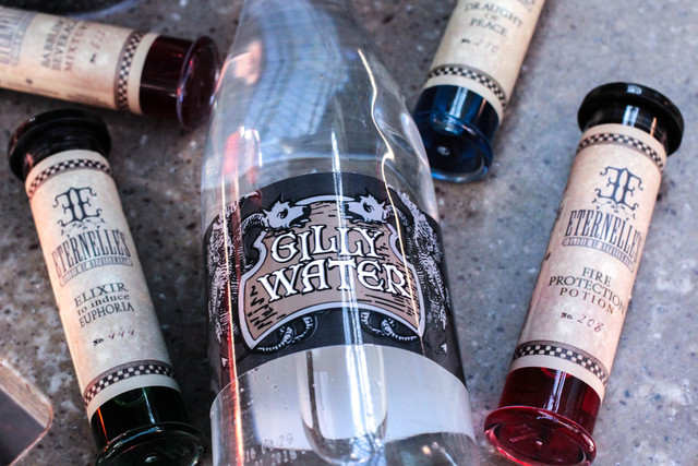 Gilly Water at The Wizarding World of Harry Potter