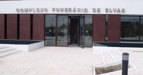 ELVAS: COMPLEXO FUNERÁRIO ENCERRA DURANTE A NOITE