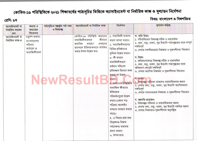 Class-9-18th-Week-Bangladesh-and-Global-Studies-BGS-Solution