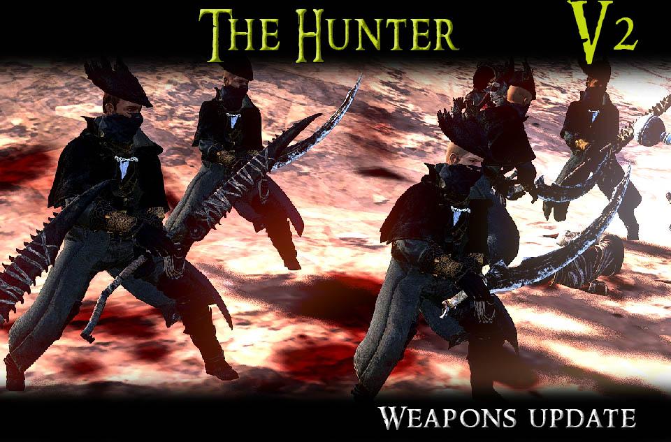 The Hunter - A Bloodborne Mod/Охотник - Кровавый мод (RU)