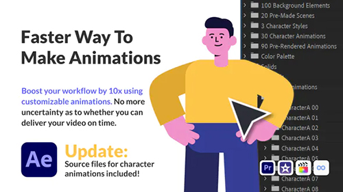 Character Animation Pack - Office and Corporate 30222701 - Project for After Effects (Videohive)