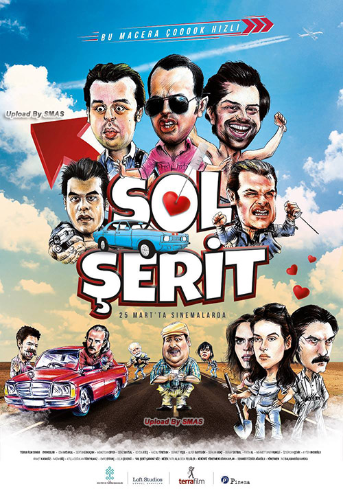 Sol Şerit | 2016 | Yerli Film | WEB-DL | XviD | m720p - m1080p | WEB-DL | Tek Link