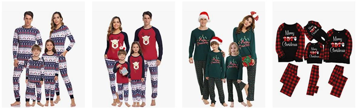 Geek-Weihnachtspyjamas für Papa, Mama, Baby, Mädchen oder Junge in [Jahr]