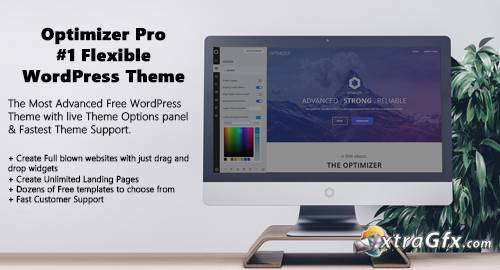 Optimizer Pro v0.7.2 - #1 Flexible WordPress Theme