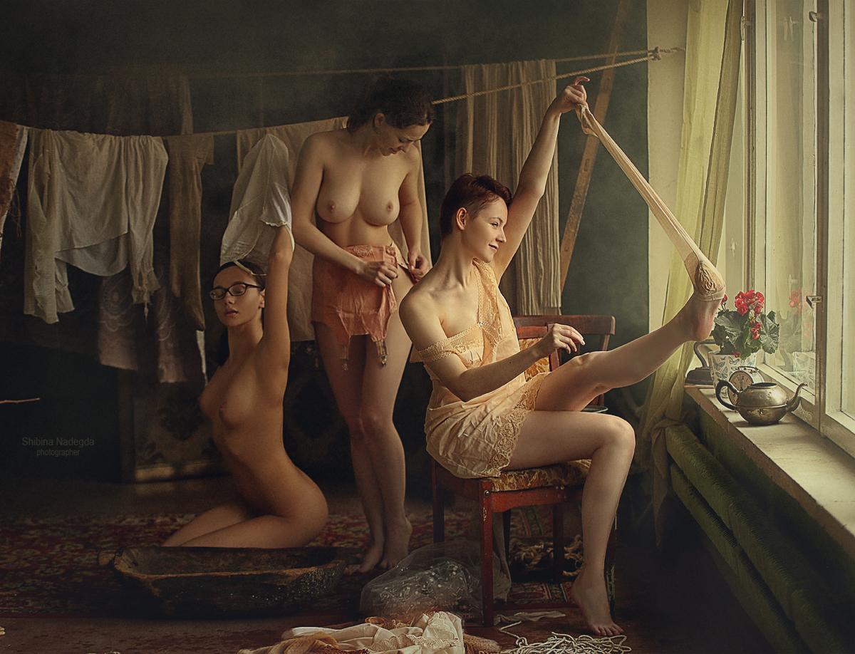 Большая стирка 18+ / Фотограф-идея Надежда Шибина