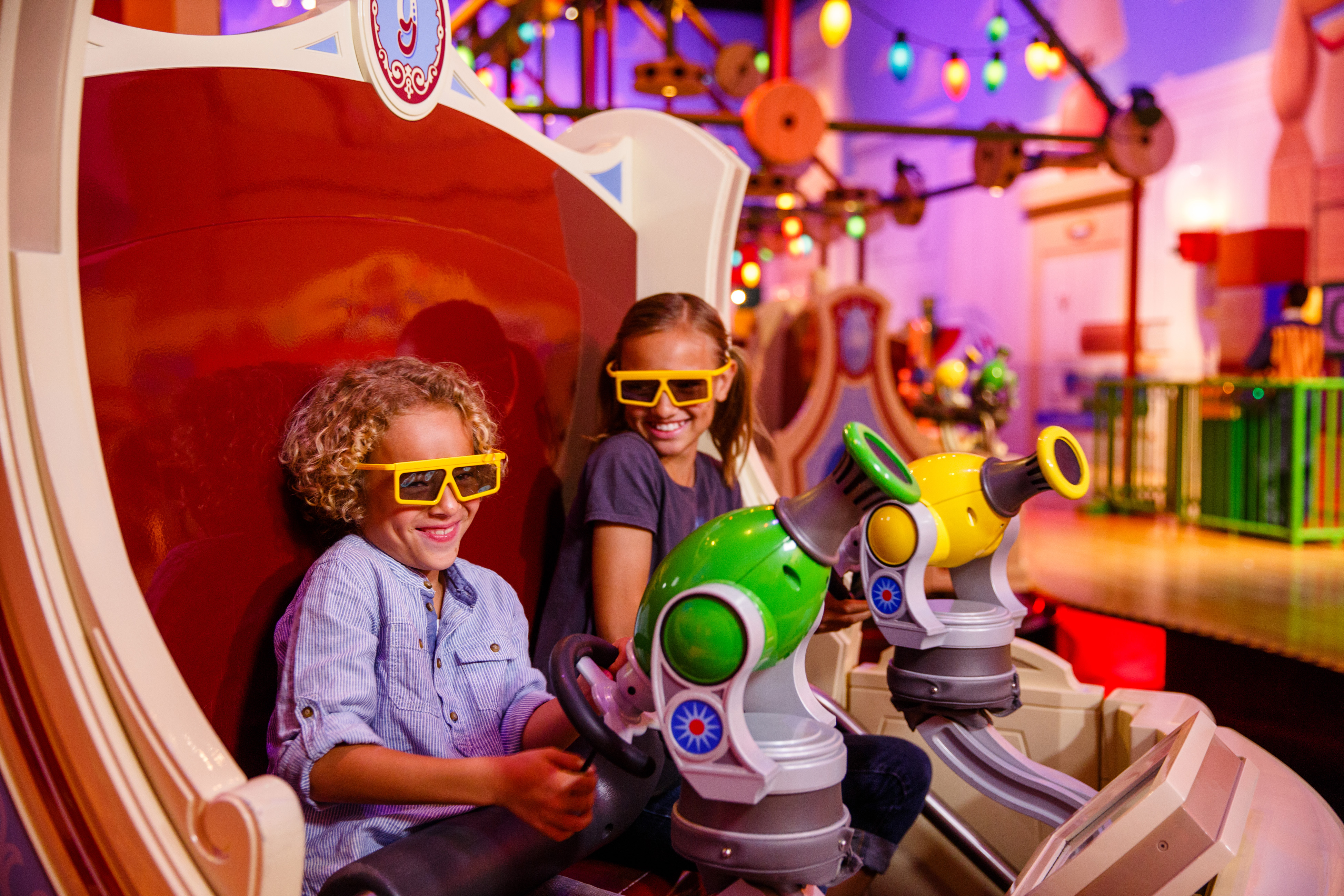 Toy Story Mania at Toy Story Land