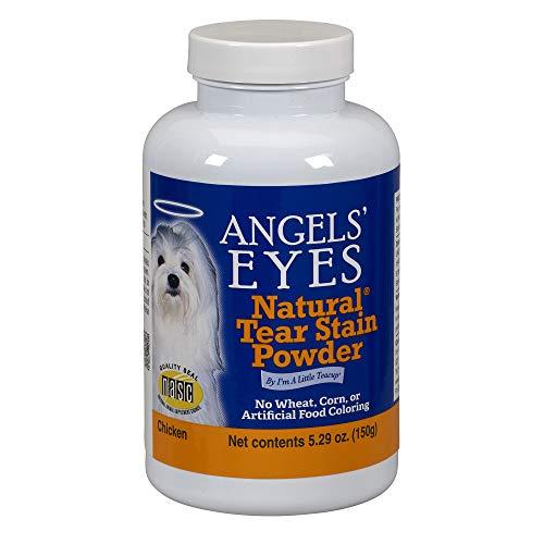Angels Eyes Polvos Eliminar Las Manchas de lágrimas en Perros, Sabor Pollo, 150 g