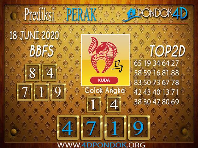 Prediksi Togel PERAK PONDOK4D 18 JUNI 2020