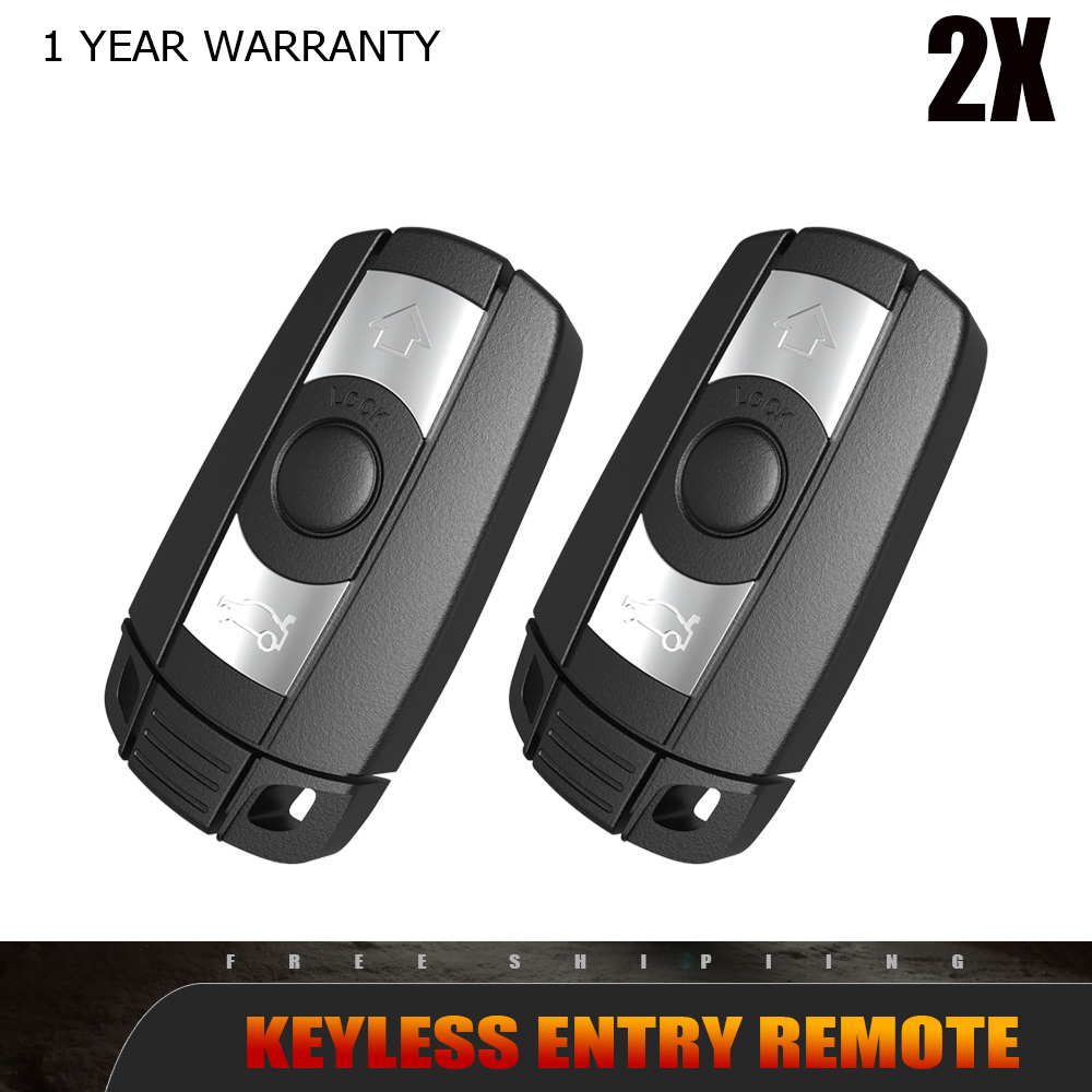 2x Fit For 2009 2010 2011 BMW 335i XDrive Smart Car Remote