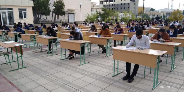TTA Urganch filiali akademik litseyiga kirish imtihoni o'tkazildi