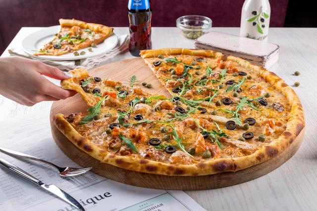 Pizza-formada