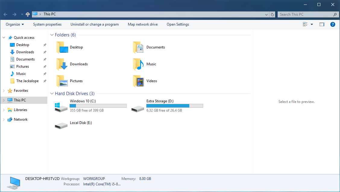 OldNewExplorer on Windows 10