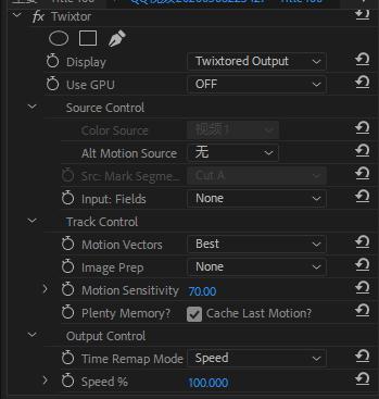 PR/AE超级慢动作补帧插件Twixtor.Pro