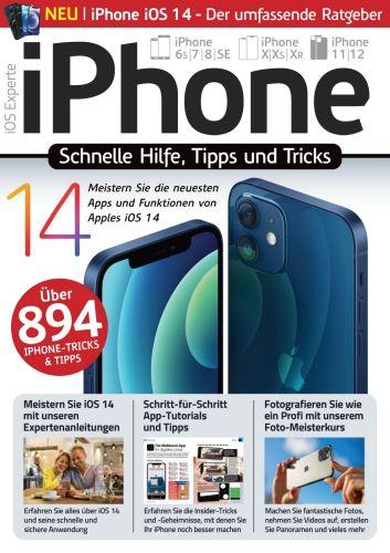 Cover: iPhone Experte Magazin Schnelle Hilfe, Tipps und Tricks 2021