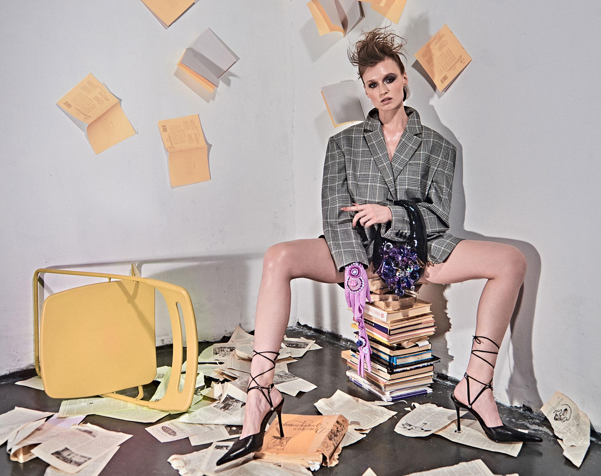 Ксю Говорухина в журнале Style Delo / фото 01