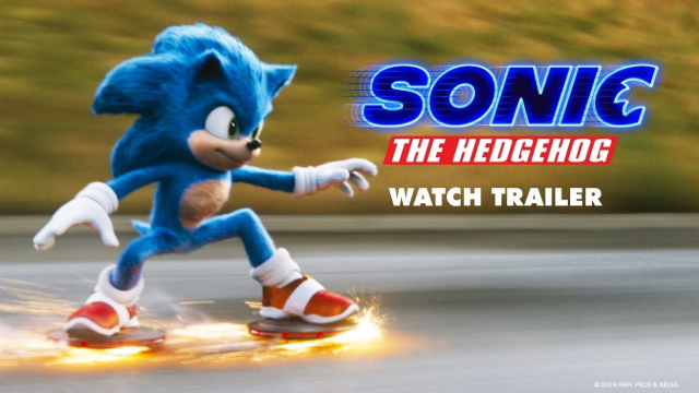 Sonic The Hedgehog New Movie Trailer Shows Off The Titular Speedster S Cute New Look
