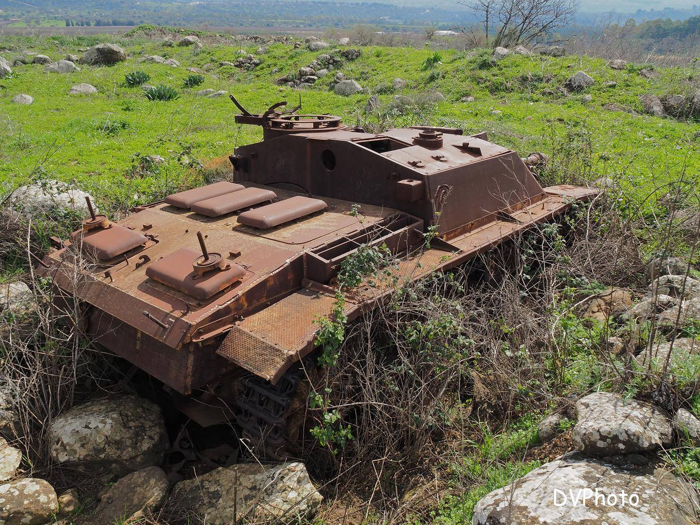 Syrian StuG-III 40 Ausf.G. In the Golan Heights