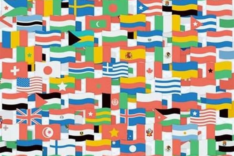 FOTO: Možete li da pronađete zastavu koja ne pripada nijednoj državi?