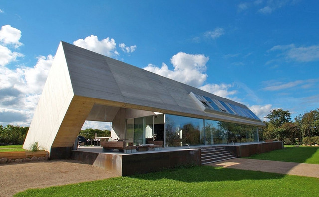 The Best Minimalist Home Roof Design Architecture Options