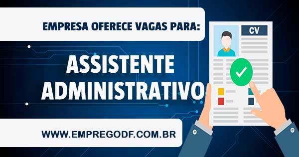 EMPREGO PARA ASSISTENTE ADMINISTRATIVO / EXPEDIÇÃO
