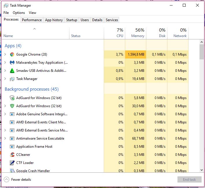 Cara Menekan Penggunaan Ram Yang Berlebihan Di Windows 10 feature image
