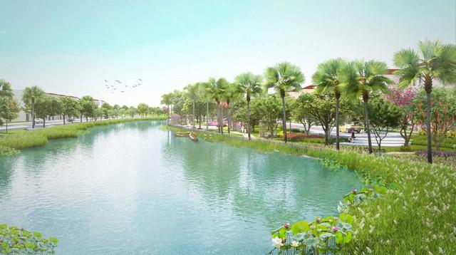 Tiện ích hồ Địa Trung Hải tại Senturia Nam Sài Gòn