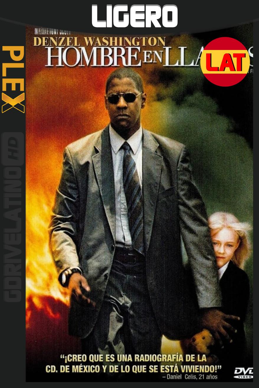 Hombre en llamas (2004) BRRip 1080p Latino-Inglés MKV
