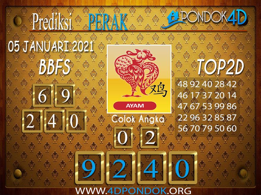 Prediksi Togel PERAK PONDOK4D 05 JANUARI 2021