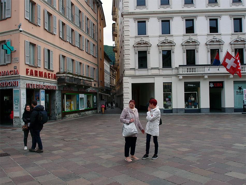 В хмуром Лугано. Немного фотографий.