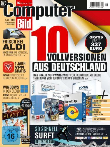 Cover: Computer Bild Magazin No 16 vom 30  Juli 2021