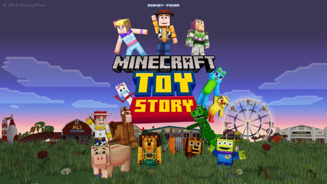 MINECRAFT Goes To Infinity & Beyond With Its Newest Mash-Up