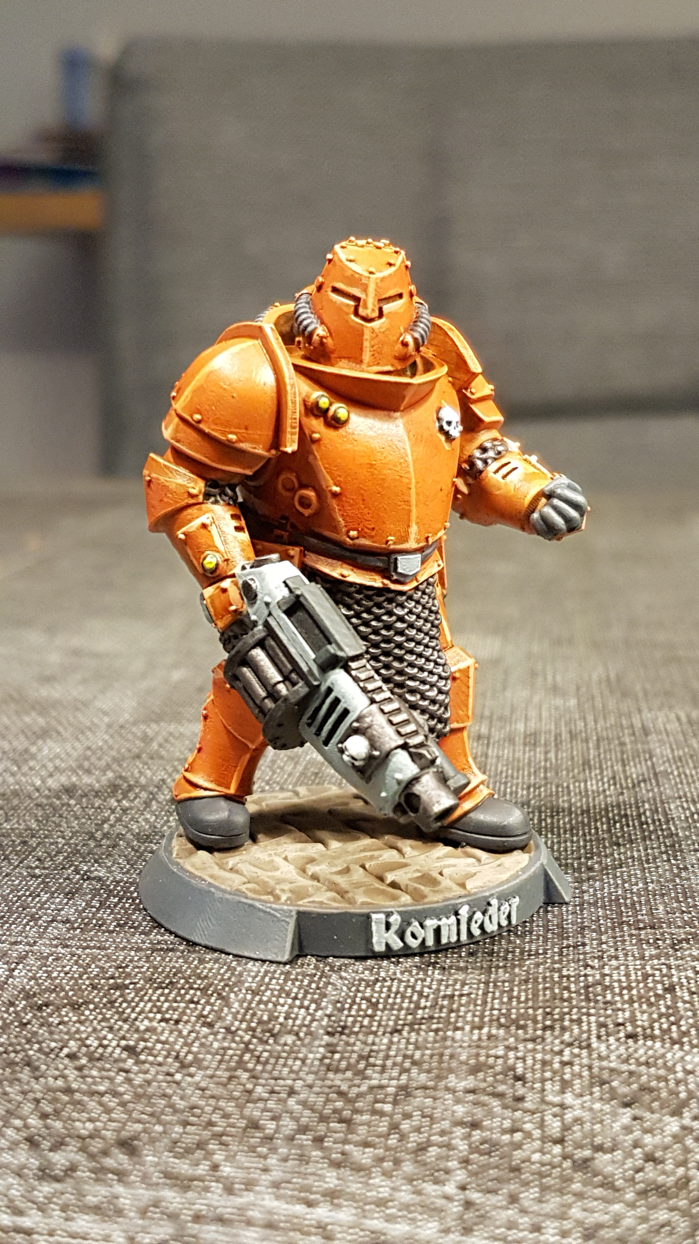 Kornfeder, my Kill Team Ogryn