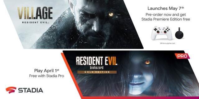 《生化危機7:生化危機金裝版》將於4月1日登陸Stadia; 生化危機村莊即將推出 Resident-Evil-Stadia-03-22-21