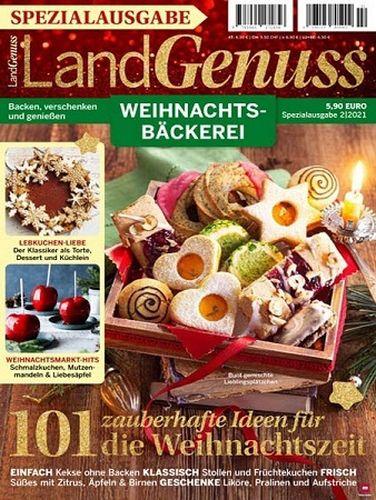 Cover: Landgenuss Spezial Weihnachtsbäckerei No 02 2021