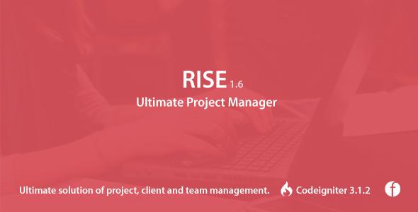 Rise v2.2.1 - менеджер проектов