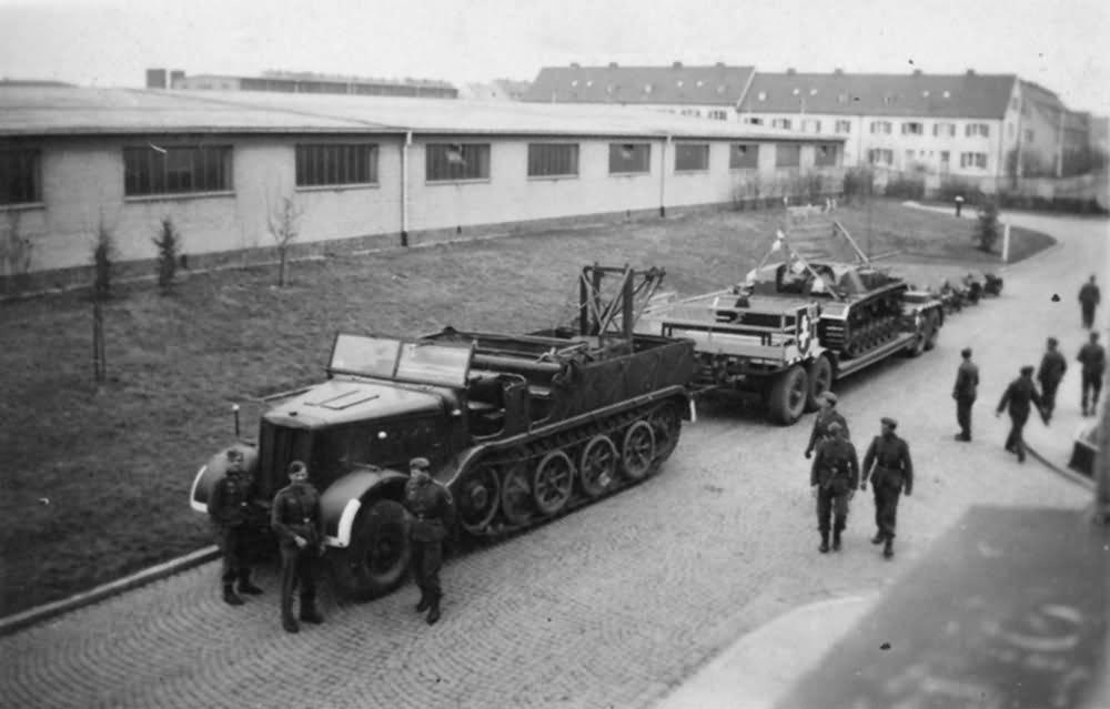 German half-track